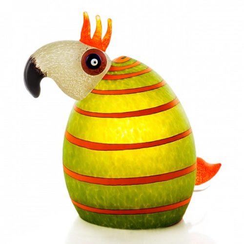 Kakadu Lamp: 24-51-28 in Lime Green