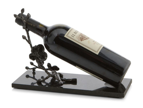Black Orchid Wine Rest, Item #110843