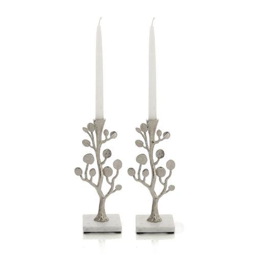 Michael Aram: Botanical Leaf Candleholders, Item #112383
