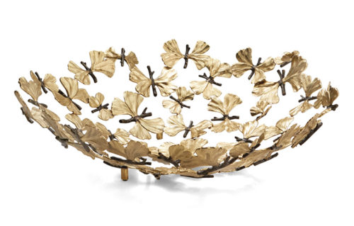 Butterfly Ginkgo Centerpiece Bowl, Item #175769