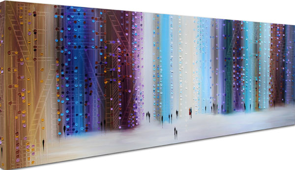 City With You by Ekaterina Ermilkina, Gallery Wrapped