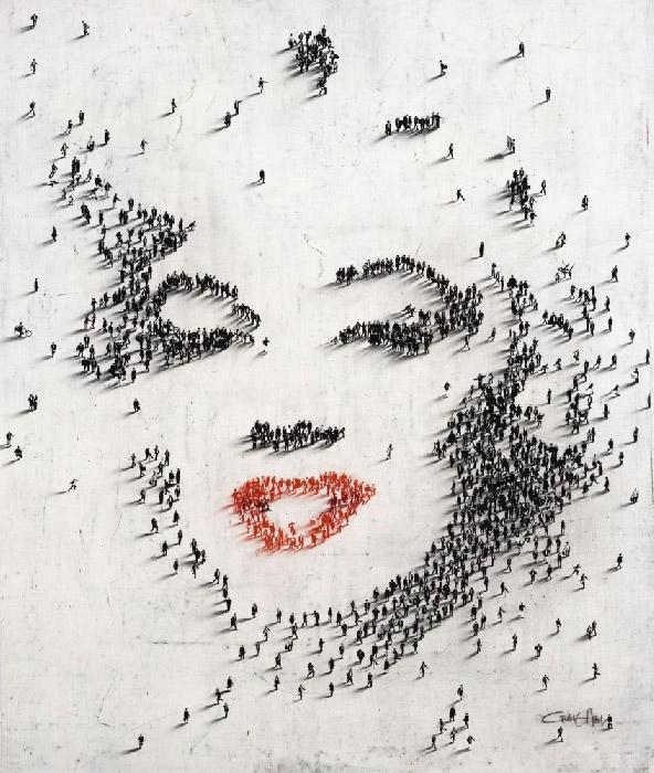 Craig Alan Painting, Marilyn Monroe: Classic III, Populous Series