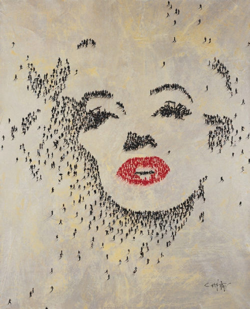 Craig Alan Painting, Marilyn Monroe: Nights Were for Sleeping II, Populous Series