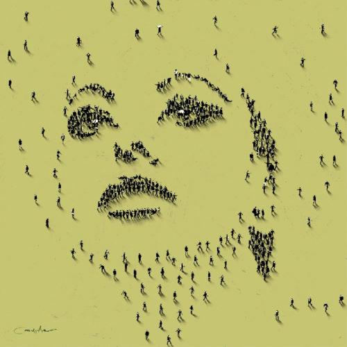 Craig Alan Painting, Sophia Loren II, Populous Series