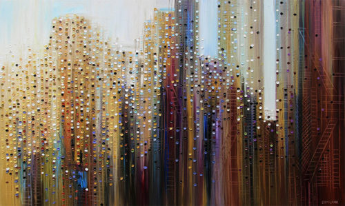 Urban Skyline by Ekaterina Ermilkina, Overview