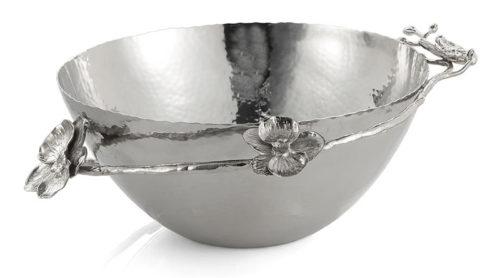 White Orchid Bowl - Medium, Item #111808