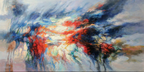 "Changing Light V by Sung Min Kim at Art Leaders Gallery, voted ""Michigan's Best Fine Art Gallery"" is located in the heart of West Bloomfield. This full service fine art gallery is the destination for all your art and custom picture framing needs. Our extensive inventory of art includes styles ranging from contemporary to traditional. The gallery represents international, national, and emerging new talent as well as local Michigan artists."
