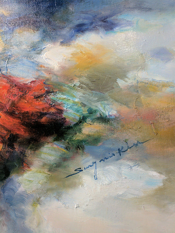 Changing Light V by Sung Min Kim, Signature