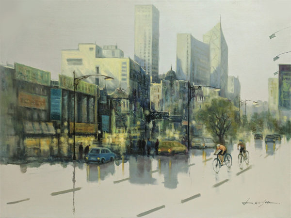 City Reflections VI by Lawson, Overview