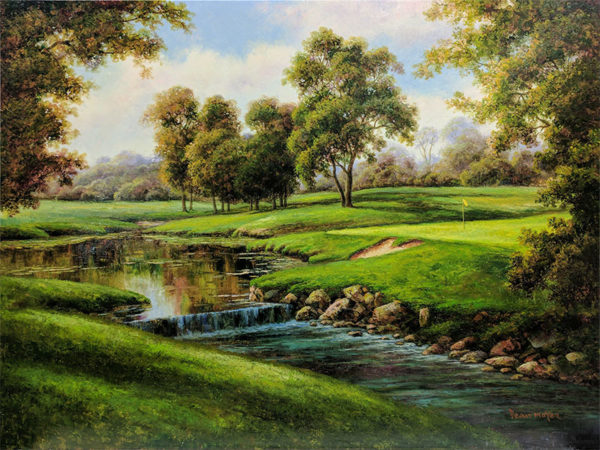 Late Summer's Golf by Dean Moyer, Overview