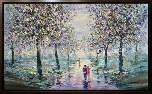 Lavender Dreams by Konstantin Savchenko, Framed