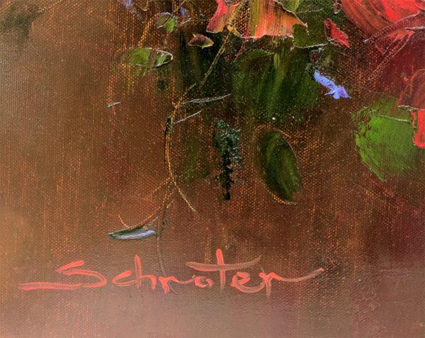 Summer Bouquet by Schroter, Signature
