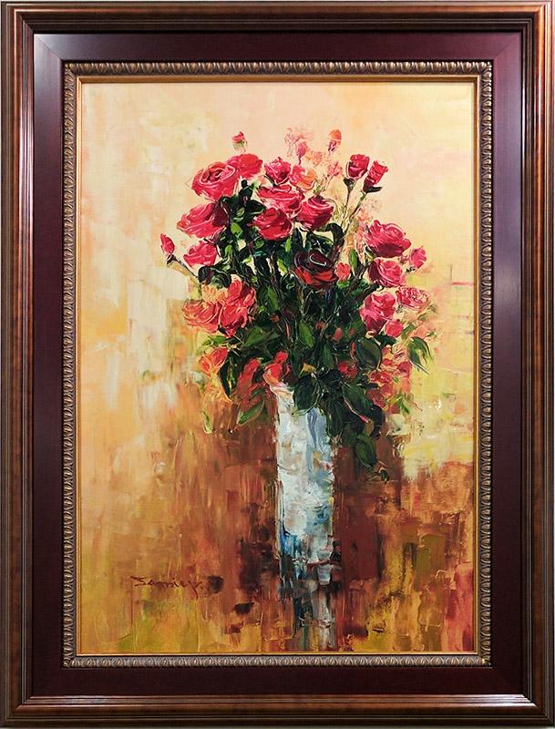 Red Rose Bouquet By Jamie P Art Leaders Website