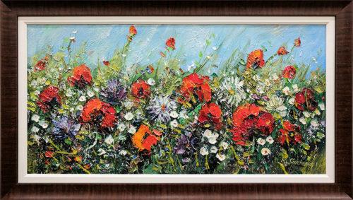 Wild Flowers I by Konstantin Savchenko, Framed
