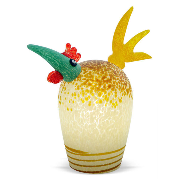 White and Olive Glass Chicken