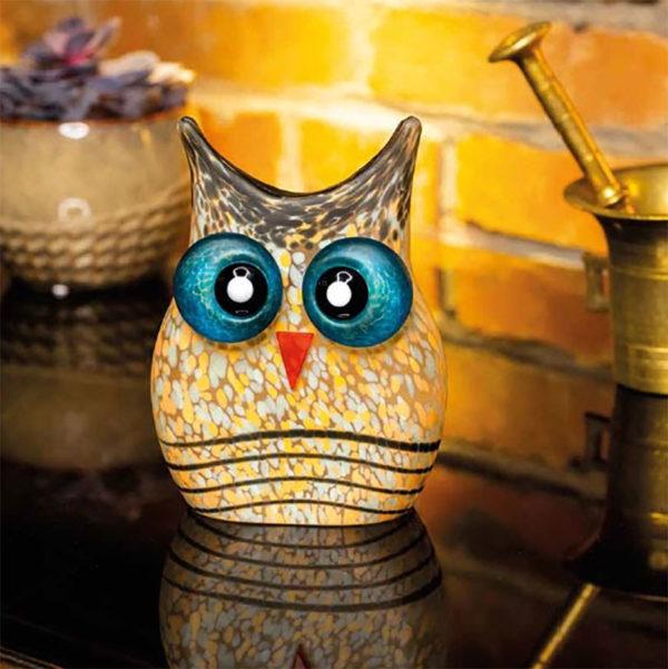 Glass Owl Still Life