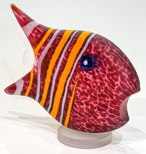 Glass Fish Sculpture