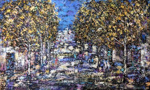 Autumn Twilight by Konstantin Savchenko