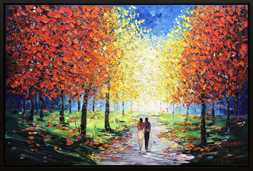 """Afternoon in the Park V"" by Konstantin Savchenko at Art Leaders Gallery, voted ""Michigan's Best Fine Art Gallery"" is located in the heart of West Bloomfield. This full service fine art gallery is the destination for all your art and custom picture framing needs. Our extensive inventory of art includes styles ranging from contemporary to traditional. The gallery represents international, national, and emerging new talent as well as local Michigan artists."
