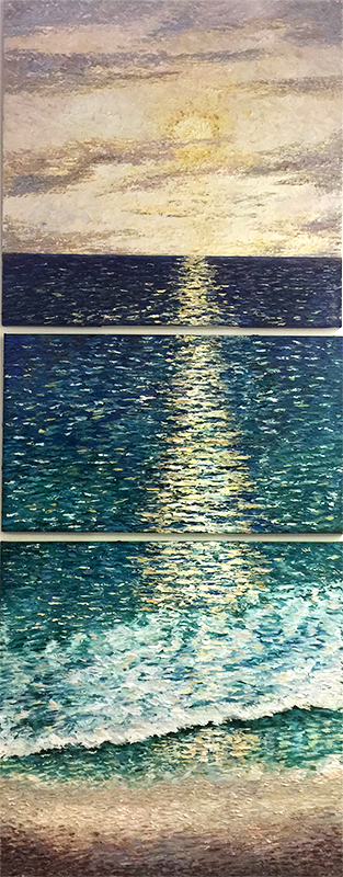Ocean Calm by Konstantin Savchenko