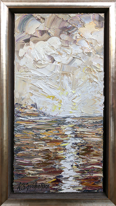 Ocean Reflections I, Framed, Framed by Konstantin Savchenko