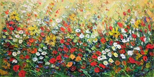 Wild Flowers III by Konstantin Savchenko