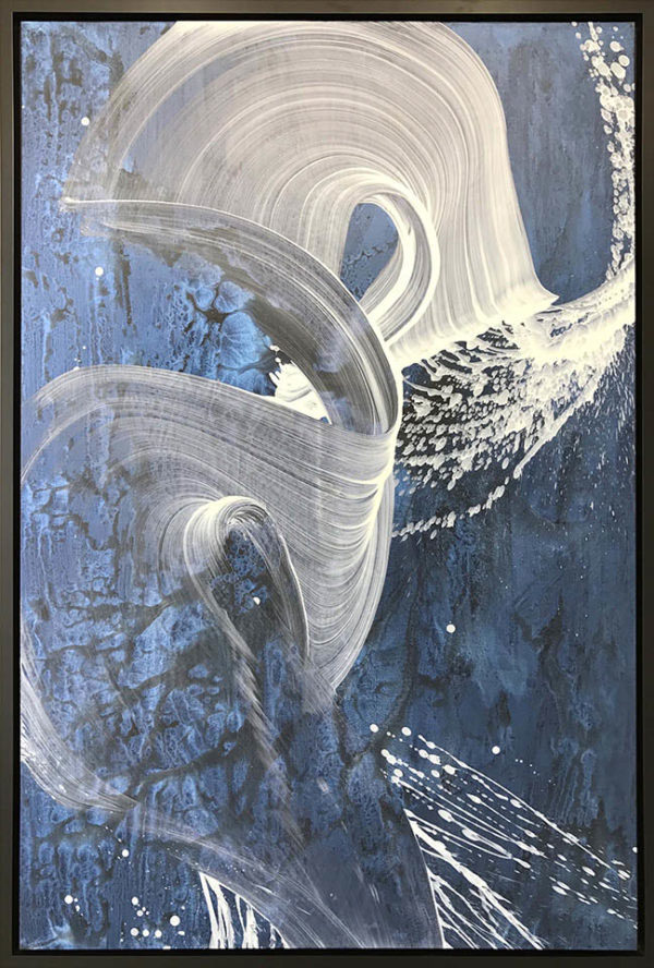 """Riptide by Antonio Velfín at Art Leaders Gallery, voted """"Michigan's Best Fine Art Gallery"""" is located in the heart of West Bloomfield. This full service fine art gallery is the destination for all your art and custom picture framing needs. Our extensive inventory of art includes styles ranging from contemporary to traditional. The gallery represents international, national, and emerging new talent as well as local Michigan artists."""