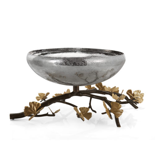 Butterfly Ginkgo Centerpiece Bowl (Large) by Michael Aram at Art Leaders Gallery