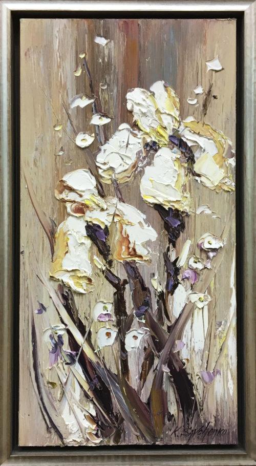 Dancing Irises, by Konstantin Savchenko