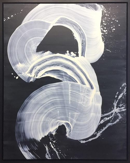 Free Flow I, Framed by Antonio Velfin
