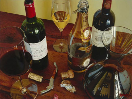 Life's Pleasures by Thomas Arvid at Art Leaders Gallery - Michigan's Finest Art Gallery