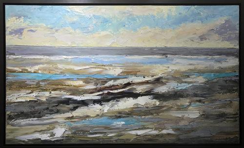 Tide Pools by Konstantin Savchenko, framed