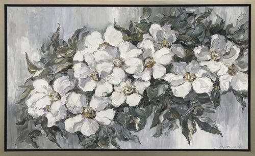 Golden Blooms, Framed - Andrii Afanasiev