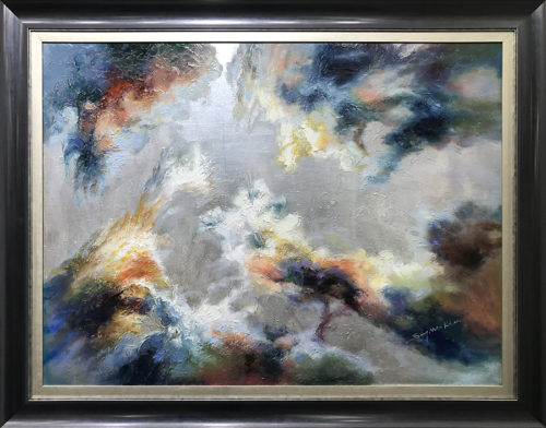 Changing Light I by Sung Min Kim, Framed