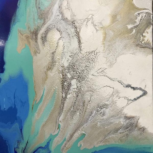 Blue Wave by Antonio Molianari