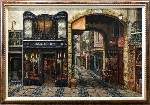 Storefront Building Painting