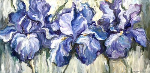 """Irises"" by Andrii Afanasiev Art Leaders Gallery, voted ""Michigan's Best Fine Art Gallery"" is located in the heart of West Bloomfield. This full service fine art gallery is the destination for all your art and custom picture framing needs. Our extensive inventory of art includes styles ranging from contemporary to traditional. The gallery represents international, national and emerging new talent as well as local Michigan artists."