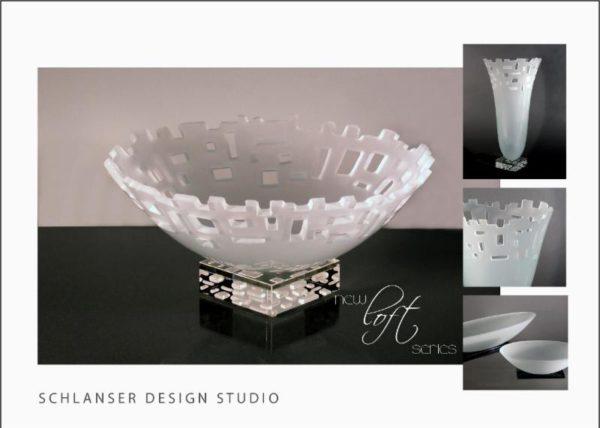 "Loft Vase, 17"" by Stephen Schlanser"
