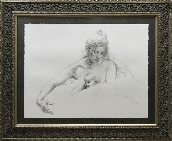 """Delicadeza by Jose Royo at Art Leaders Gallery, voted """"Michigan's Best Fine Art Gallery"""" is located in the heart of West Bloomfield. This full service fine art gallery is the destination for all your art and custom picture framing needs. Our extensive inventory of art includes styles ranging from contemporary to traditional. The gallery represents international, national and emerging new talent as well as local Michigan artists."""