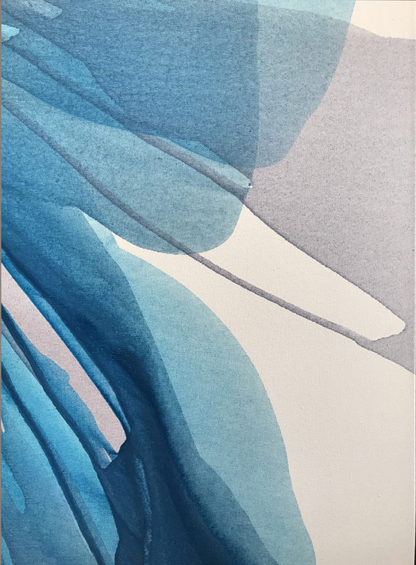Antonio Molinari - Blue Anemone detail 3