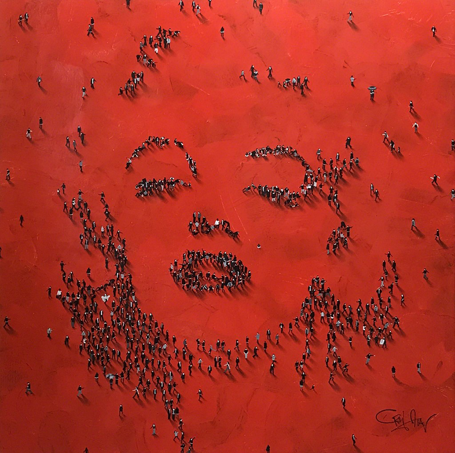 Craig Alan Painting, Marilyn Monroe: Fantasize, Populous Series