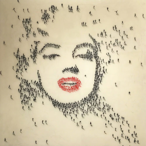 Craig Alan Painting, Marilyn Monroe: Whisper, Populous Series