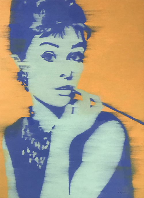 "Audrey Hepburn by Payne G. at Art Leaders Gallery, voted ""Michigan's Best Fine Art Gallery"" is located in the heart of West Bloomfield. This full service fine art gallery is the destination for all your art and custom picture framing needs. Our extensive inventory of art includes styles ranging from contemporary to traditional. The gallery represents international, national, and emerging new talent as well as local Michigan artists."