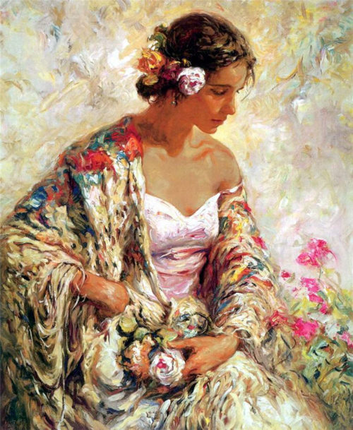 "Belleza Serena by Jose Royo at Art Leaders Gallery, voted ""Michigan's Best Fine Art Gallery"" is located in the heart of West Bloomfield. This full service fine art gallery is the destination for all your art and custom picture framing needs. Our extensive inventory of art includes styles ranging from contemporary to traditional. The gallery represents international, national and emerging new talent as well as local Michigan artists."