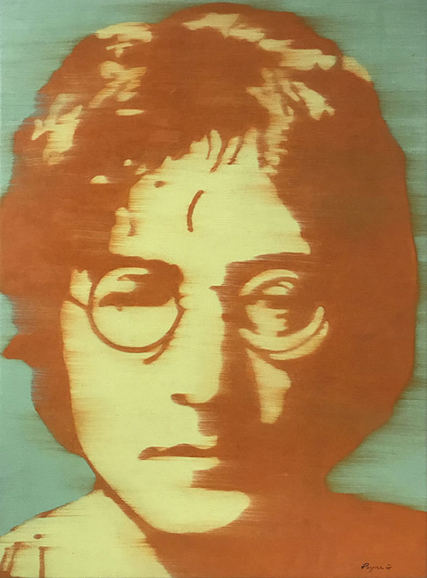 """John Lennon by Payne G. at Art Leaders Gallery, voted """"Michigan's Best Fine Art Gallery"""" is located in the heart of West Bloomfield. This full service fine art gallery is the destination for all your art and custom picture framing needs. Our extensive inventory of art includes styles ranging from contemporary to traditional. The gallery represents international, national, and emerging new talent as well as local Michigan artists."""