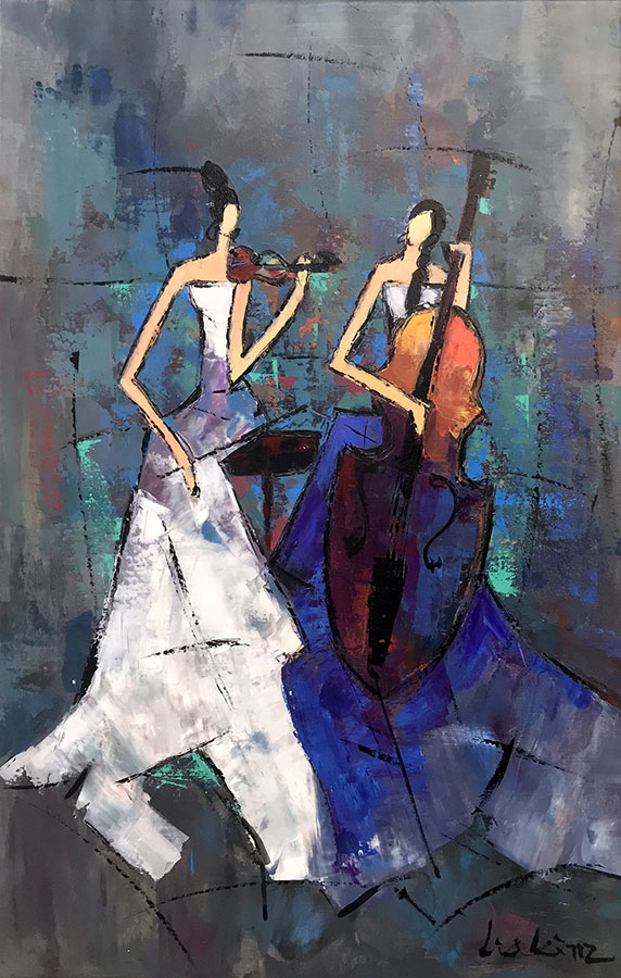 "Duet by Lia Kim at Art Leaders Gallery, voted ""Michigan's Best Fine Art Gallery"" is located in the heart of West Bloomfield. This full service fine art gallery is the destination for all your art and custom picture framing needs. Our extensive inventory of art includes styles ranging from contemporary to traditional. The gallery represents international, national, and emerging new talent as well as local Michigan artists."