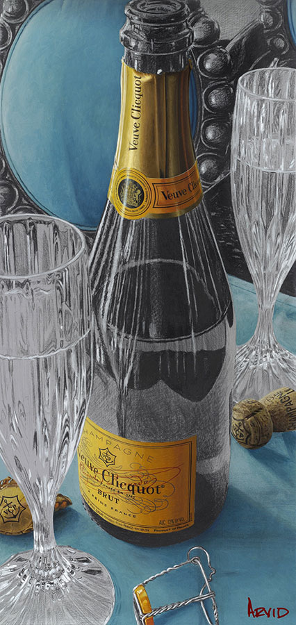 Navigating the Bubbly by Thomas Arvid at Art Leaders Gallery - Michigan's Finest Art Gallery