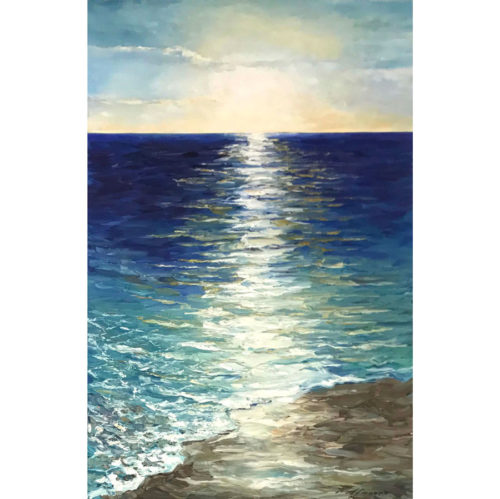 """Open Sea"" by Andrii Afanasiev Art Leaders Gallery, voted ""Michigan's Best Fine Art Gallery"" is located in the heart of West Bloomfield. This full service fine art gallery is the destination for all your art and custom picture framing needs. Our extensive inventory of art includes styles ranging from contemporary to traditional. The gallery represents international, national and emerging new talent as well as local Michigan artists."