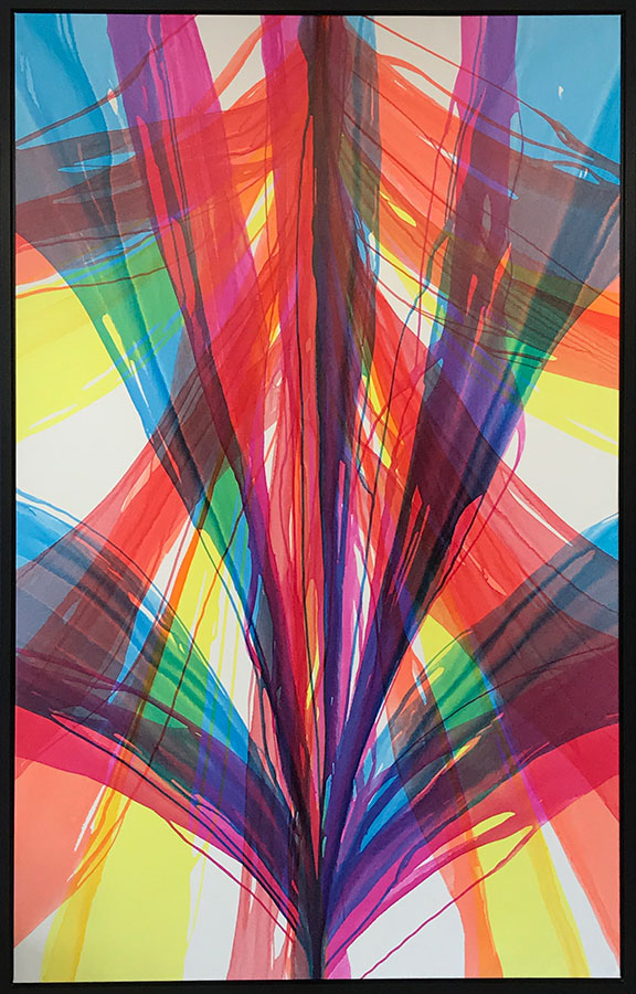"Spectra I by Antonio Molinari at Art Leaders Gallery, voted ""Michigan's Best Fine Art Gallery"" is located in the heart of West Bloomfield. This full service fine art gallery is the destination for all your art and custom picture framing needs. Our extensive inventory of art includes styles ranging from contemporary to traditional. The gallery represents international, national, and emerging new talent as well as local Michigan artists."