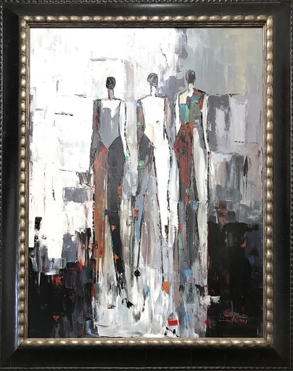 "Trio by Lia Kim at Art Leaders Gallery, voted ""Michigan's Best Fine Art Gallery"" is located in the heart of West Bloomfield. This full service fine art gallery is the destination for all your art and custom picture framing needs. Our extensive inventory of art includes styles ranging from contemporary to traditional. The gallery represents international, national, and emerging new talent as well as local Michigan artists."